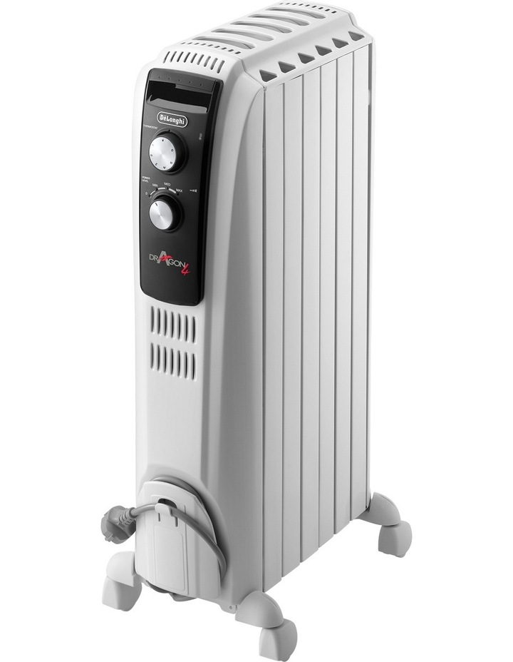 Delonghi Dragon4 oil column heater with timer image 1