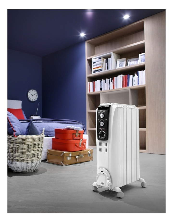 Delonghi Dragon4 oil column heater with timer image 2