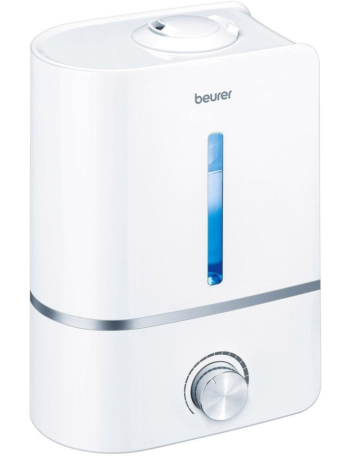 Humidifier With Aromatherapy And Water Filter White LB45 image 1