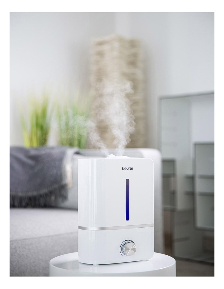 Humidifier With Aromatherapy And Water Filter White LB45 image 4