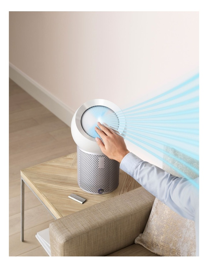 Pure Cool Me personal purifying fan: White/Silver 275919-01 image 5