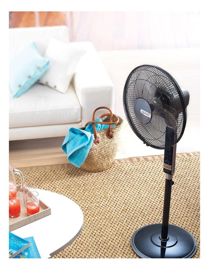 40cm Pedestal Fan in Black image 3