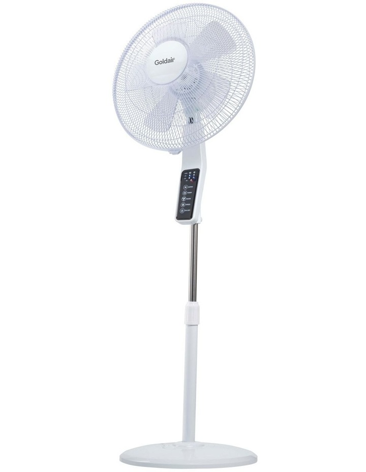 GCPF340 40cm Quiet Pdstl Fan: White image 1