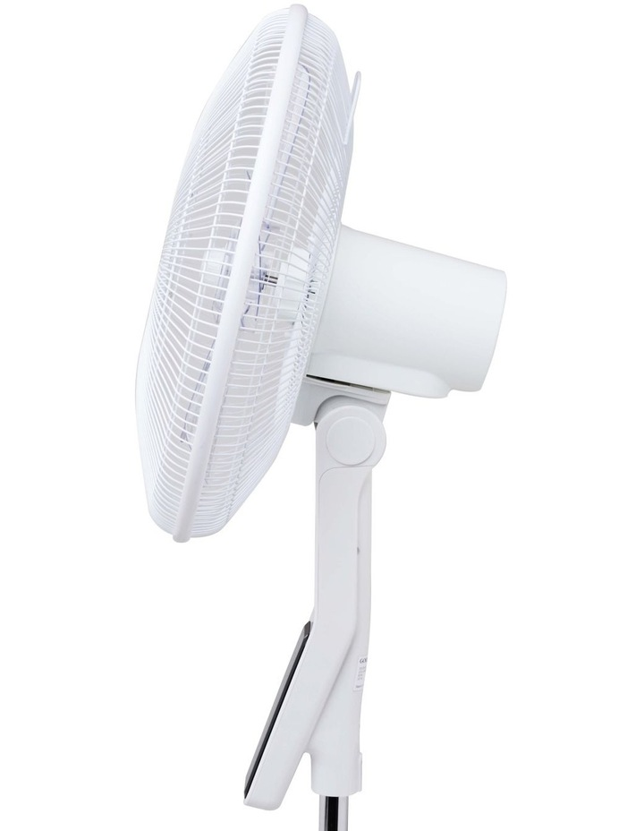 GCPF340 40cm Quiet Pdstl Fan: White image 2