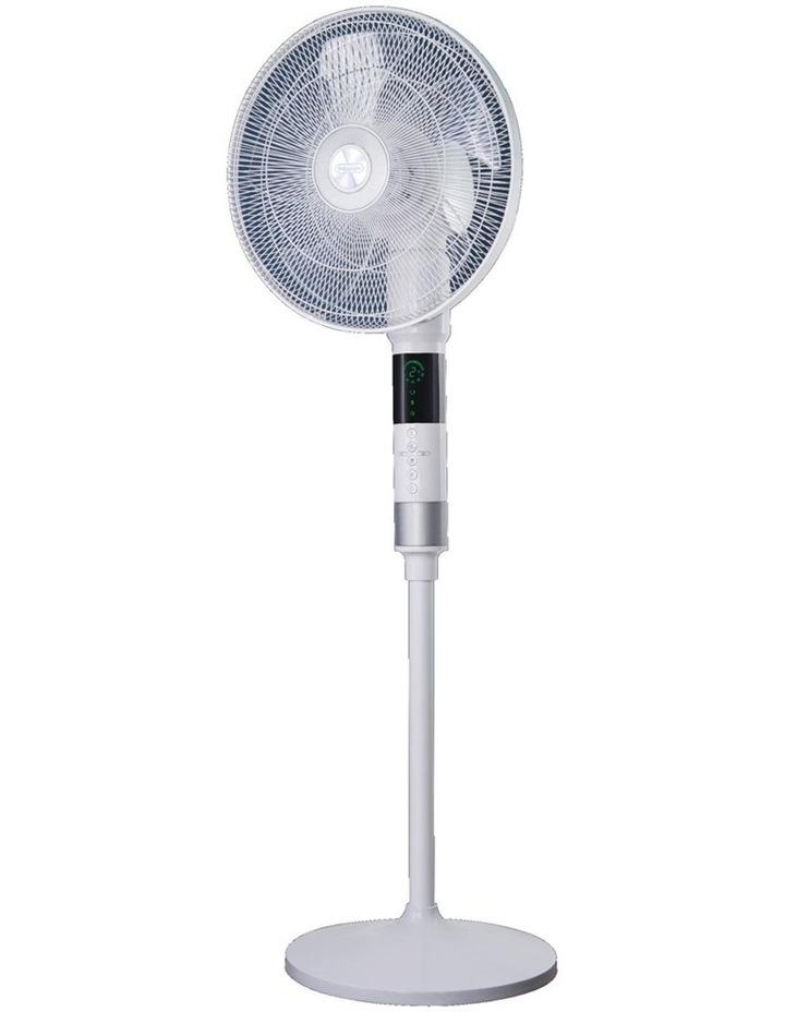 360 Degree Pedestal Cooling Fan White DEAPF40WH image 2