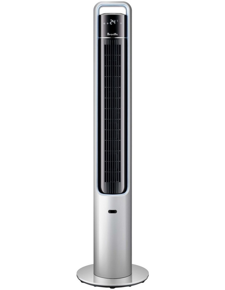 the Mistic 2 in 1 Connect Tower Fan Silver LTF408SIL image 1