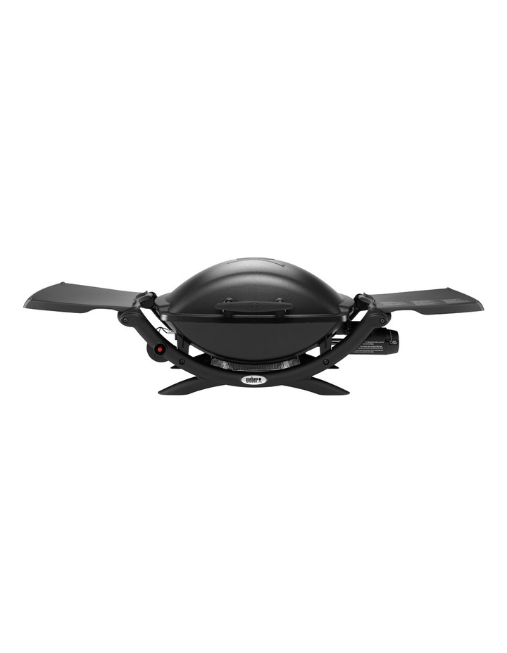 53010024 Q2000 Q LP Gas Barbecue: 53010024 Black image 1