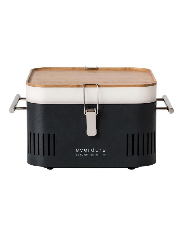 Portable Charcoal BBQ: Graphite HBCUBEG image 1