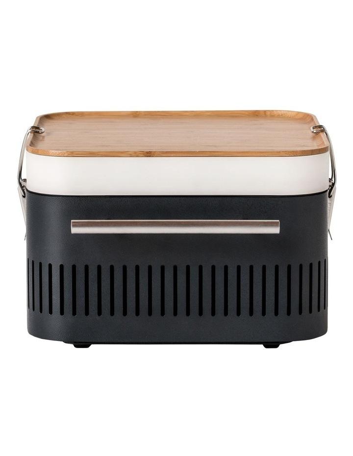 Portable Charcoal BBQ: Graphite HBCUBEG image 2