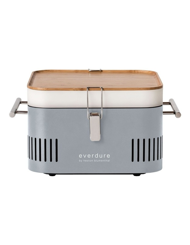 Portable Charcoal BBQ: Stone HBCUBES image 1