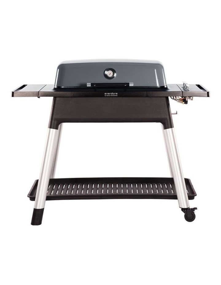 Furnace 3 Burner Hooded Gas BBQ with Stand Graphite image 1