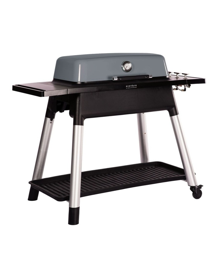 Furnace 3 Burner Hooded Gas BBQ with Stand Graphite image 2