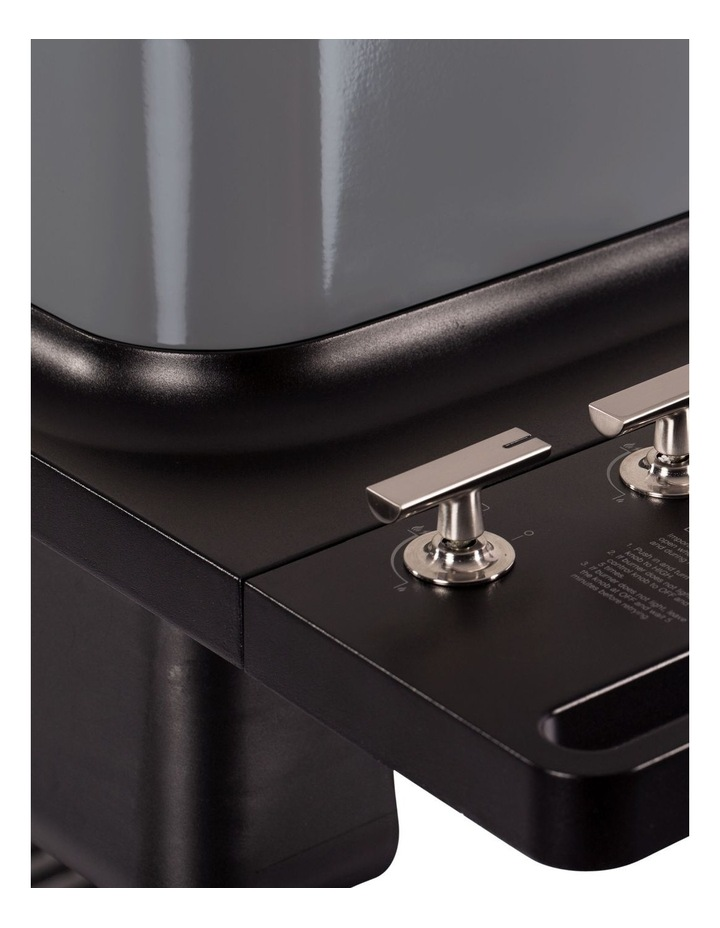 Furnace 3 Burner Hooded Gas BBQ with Stand Graphite image 3