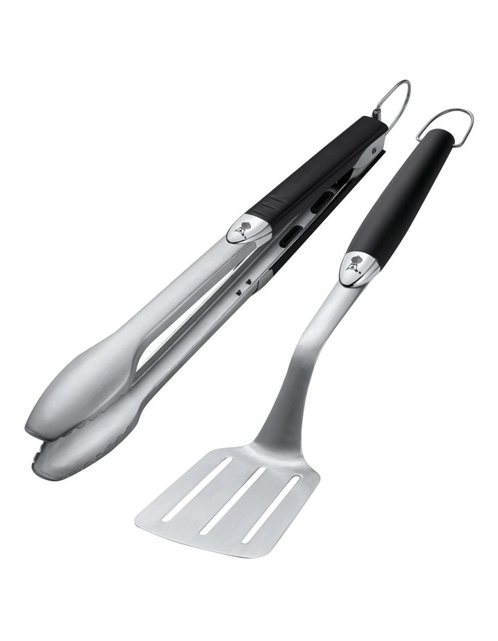 2 Piece Portable Tool Set Stainless Steel 6645 image 1