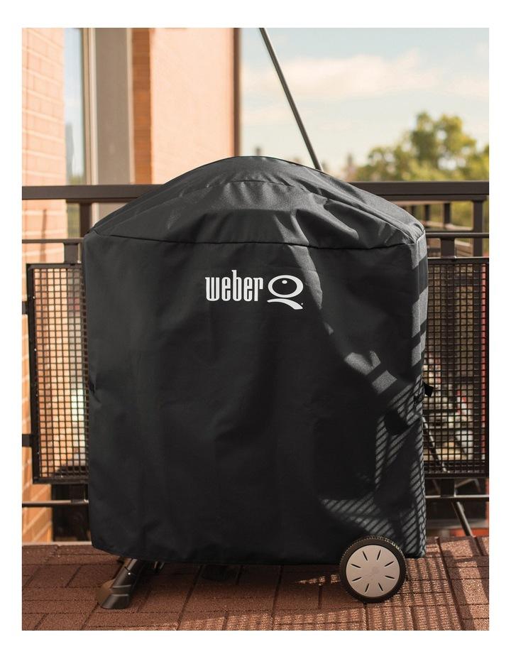 Full Length Premium cover to suit Q/Baby Q: Black: 7113 image 3