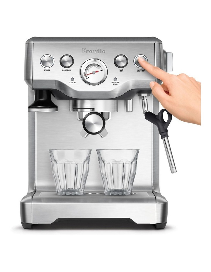 The Infuser Coffee Machine Brushed Stainless Steel BES840 image 2