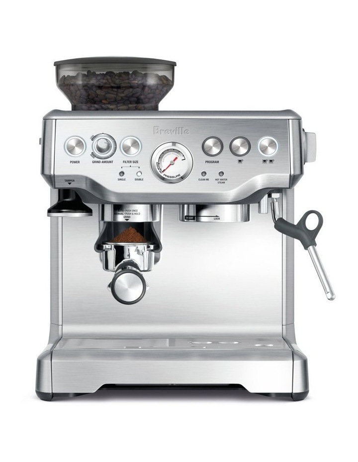 the Barista Express Coffee Machine Stainless Steel BES870BSS image 1