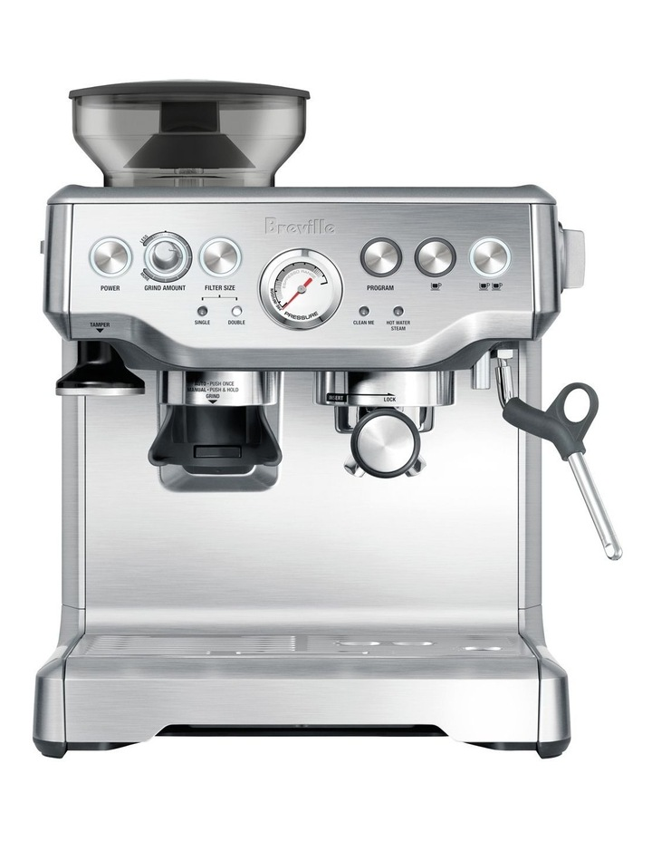 The Barista Express Coffee Machine: Stainless Steel BES870BSS image 1