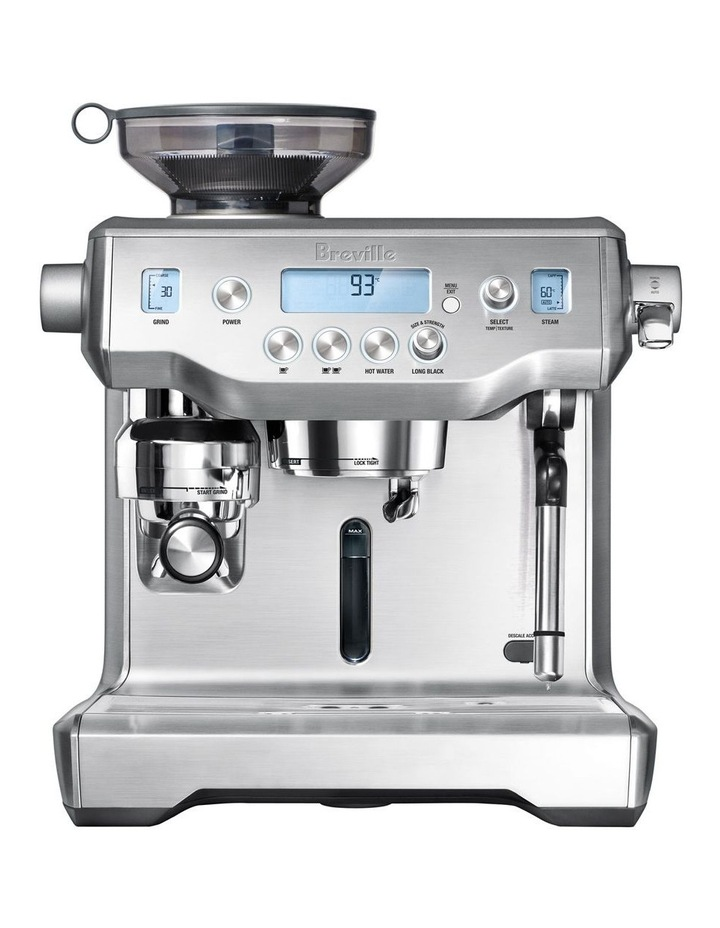 the Oracle Coffee Machine Brushed Stainless Steel BES980BSS image 1