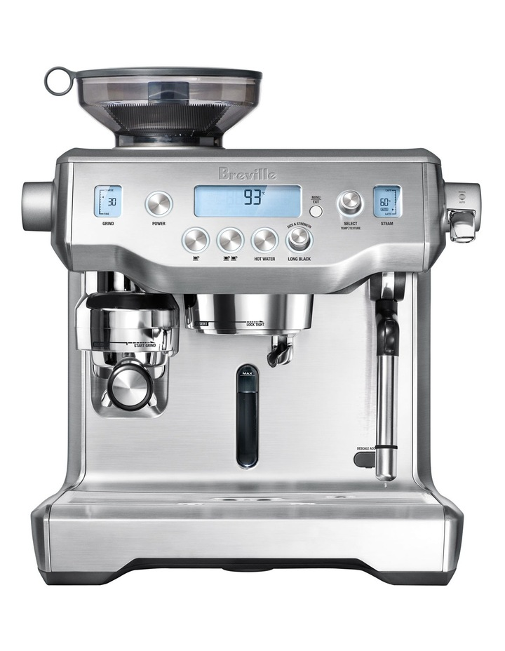 the Oracle Coffee Machine Brushed Stainless Steel BES980BSS image 2