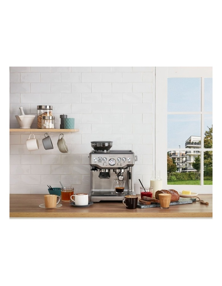 the Barista Express Coffee Machine Cranberry BES870CRN image 3
