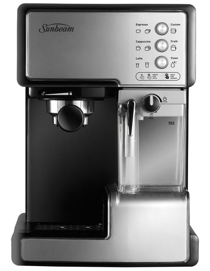 Cafe Barista Manual Coffee Machine Stainless Steel EM5000 image 1