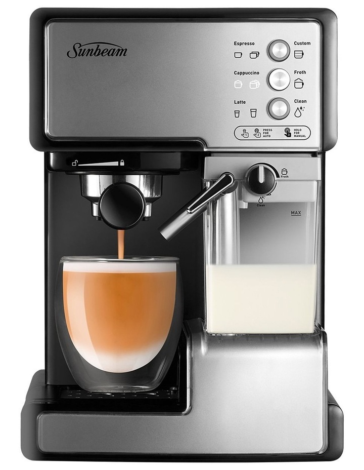 Cafe Barista Manual Coffee Machine Stainless Steel EM5000 image 2