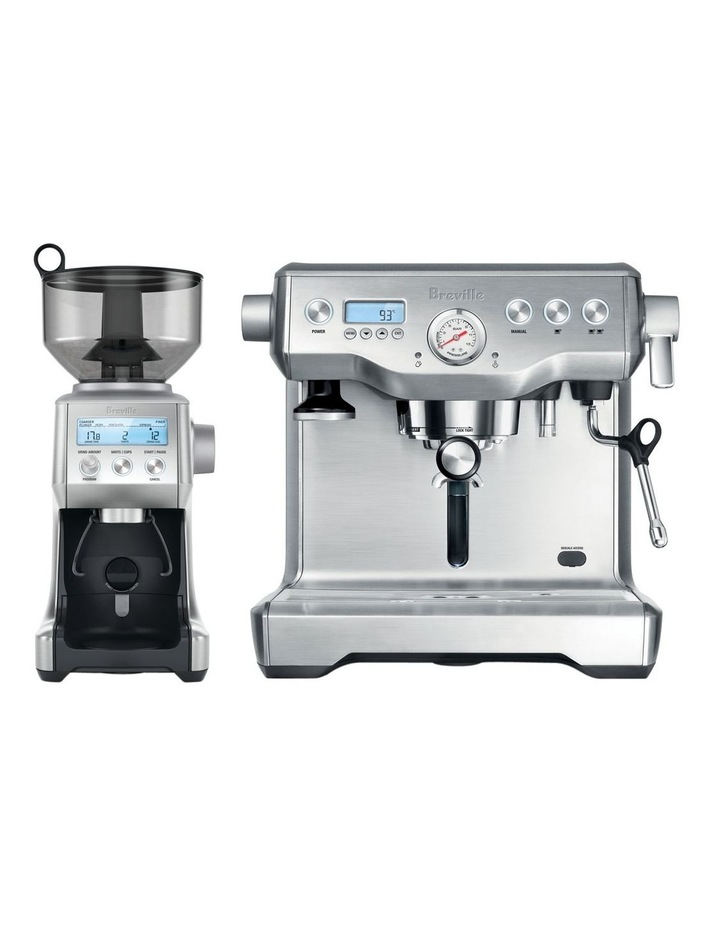 The Dynamic Duo Espresso Machine: Stainless Steel BEP920BSS image 1