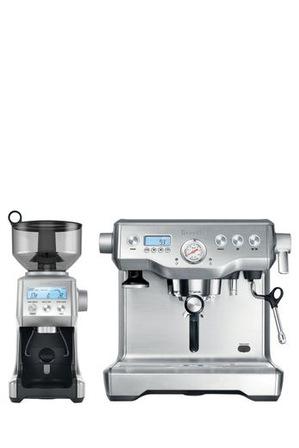 Breville - the Dynamic Duo Espresso Machine BEP920BSS