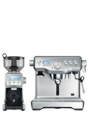 the Dynamic Duo Espresso Machine BEP920BSS