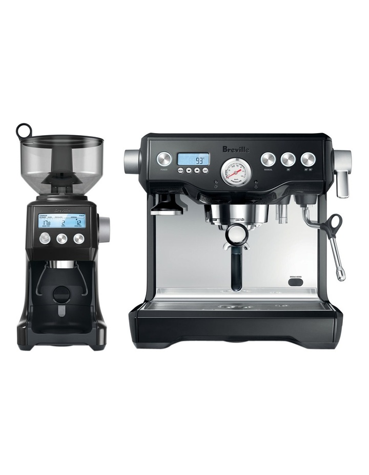 The Dynamic Duo Espresso Machine: Black Sesame BEP920BKS image 2