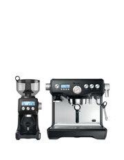 the Dynamic Duo Espresso Machine BEP920BKS