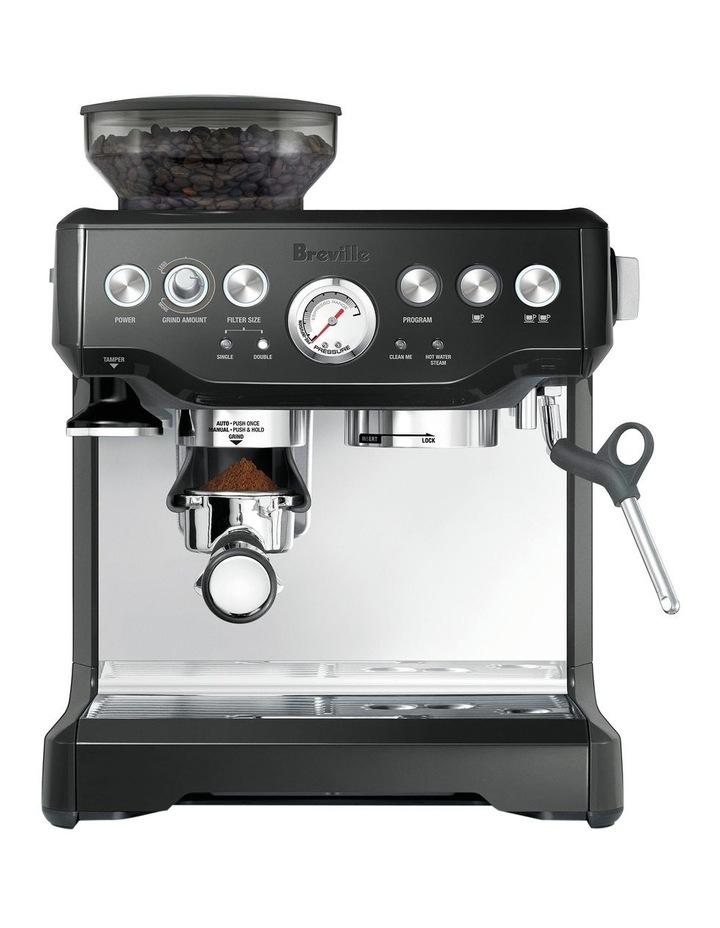 the Barista Express Coffee Machine Black Sesame BES870BKS image 1
