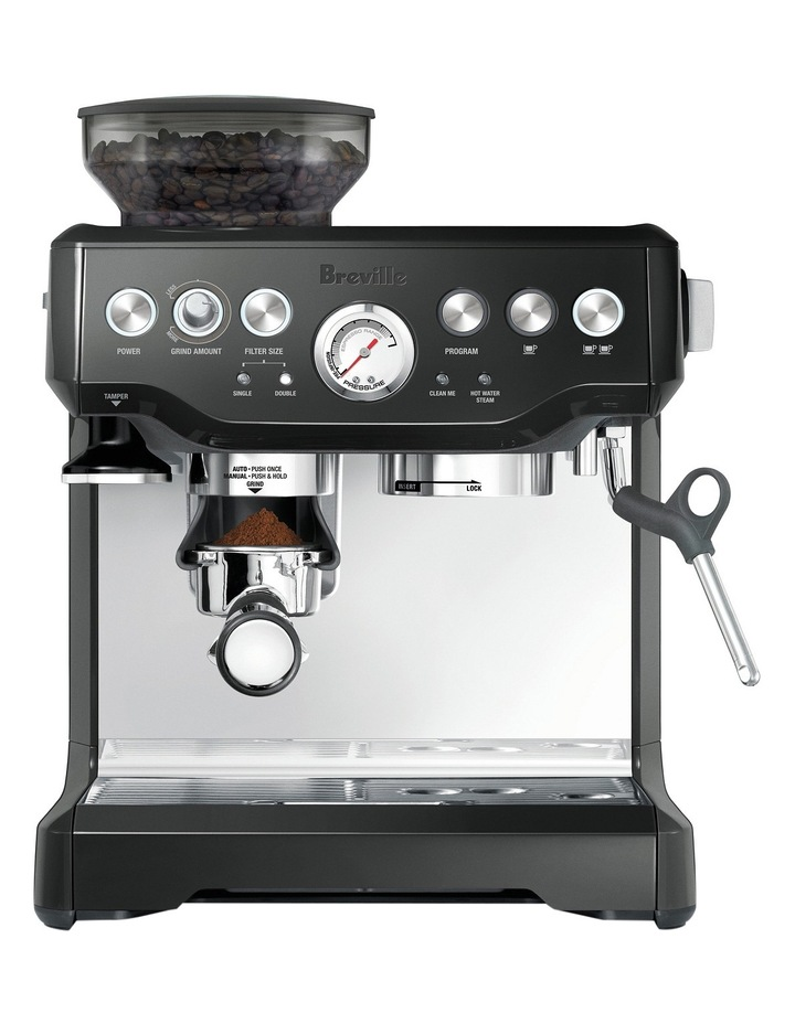 The Barista Express Coffee Machine: Black Sesame BES870BKS image 1