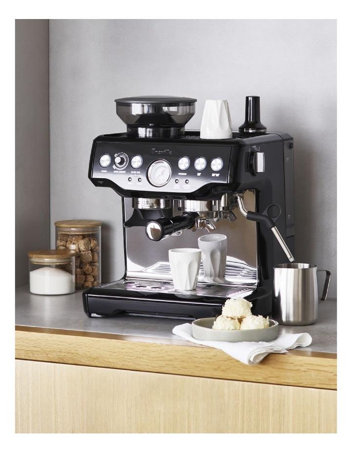 thumbnail 2 - Breville the Barista Express Coffee Machine Black Sesame BES870BKS