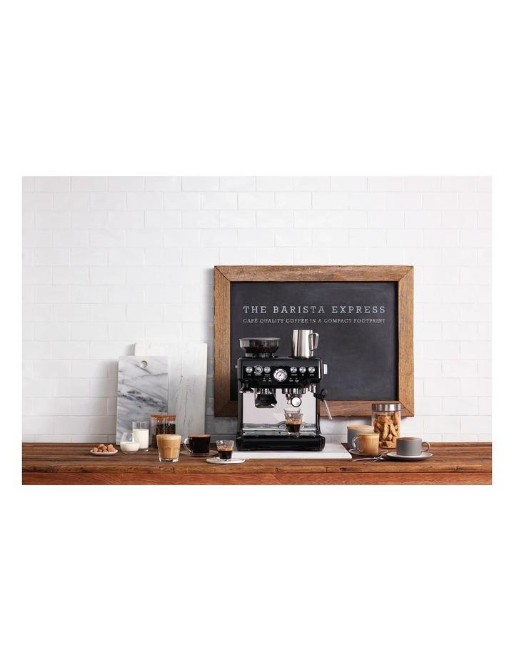the Barista Express Coffee Machine Black Sesame BES870BKS image 3
