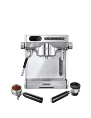 Sunbeam - EM7100 Café Series Espresso Machine plus Multi Capsule Handle: Stainless/Polished/Brushed Steel