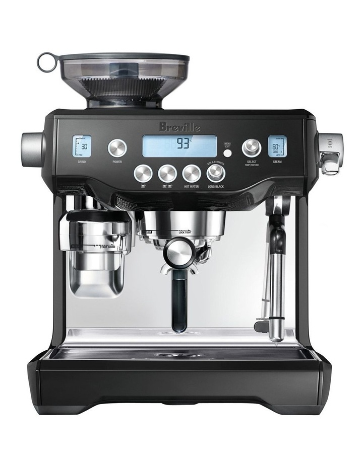 The Oracle Coffee Machine Black Sesame BES980BKS image 1