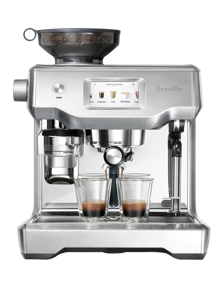 the Oracle Touch Coffee Machine Brushed Stainless Steel BES990BSS image 1