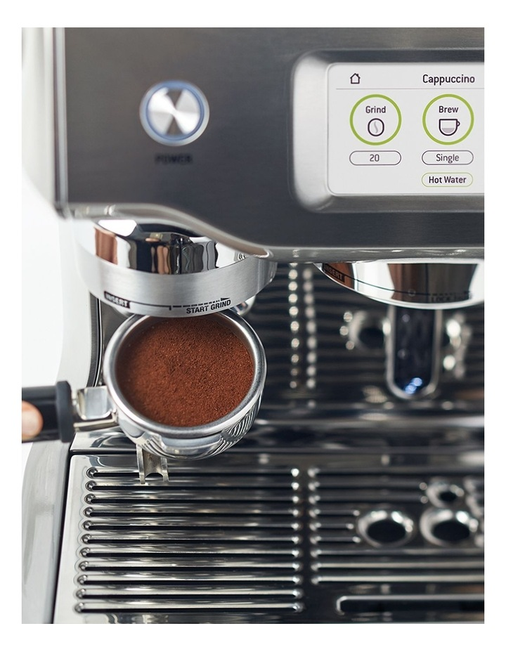 the Oracle Touch Coffee Machine Brushed Stainless Steel BES990BSS image 7