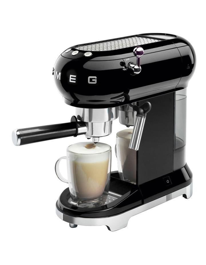 Espresso Coffee Machine in Black image 3