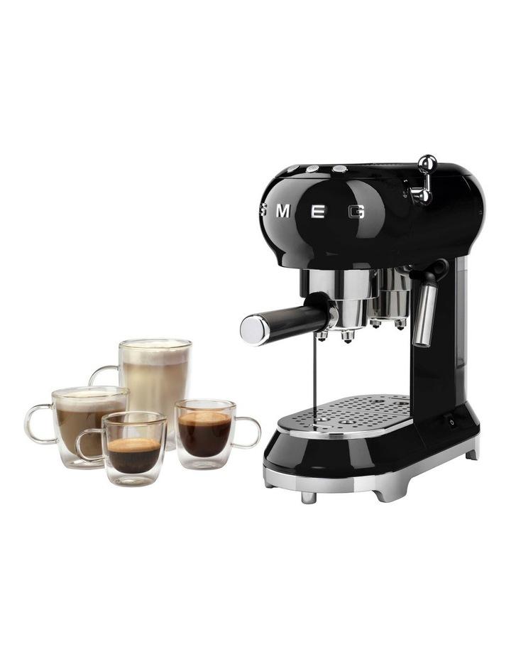 Espresso Coffee Machine in Black image 4