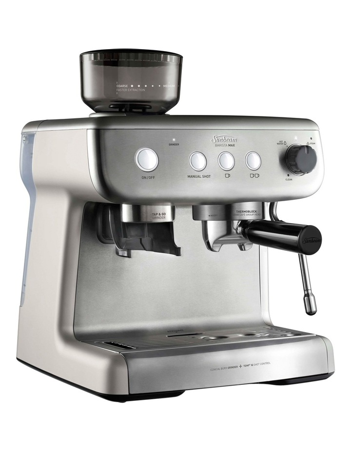 Barista Max Espresso Machine with Grinder: Stainless Steel EM5300 image 3