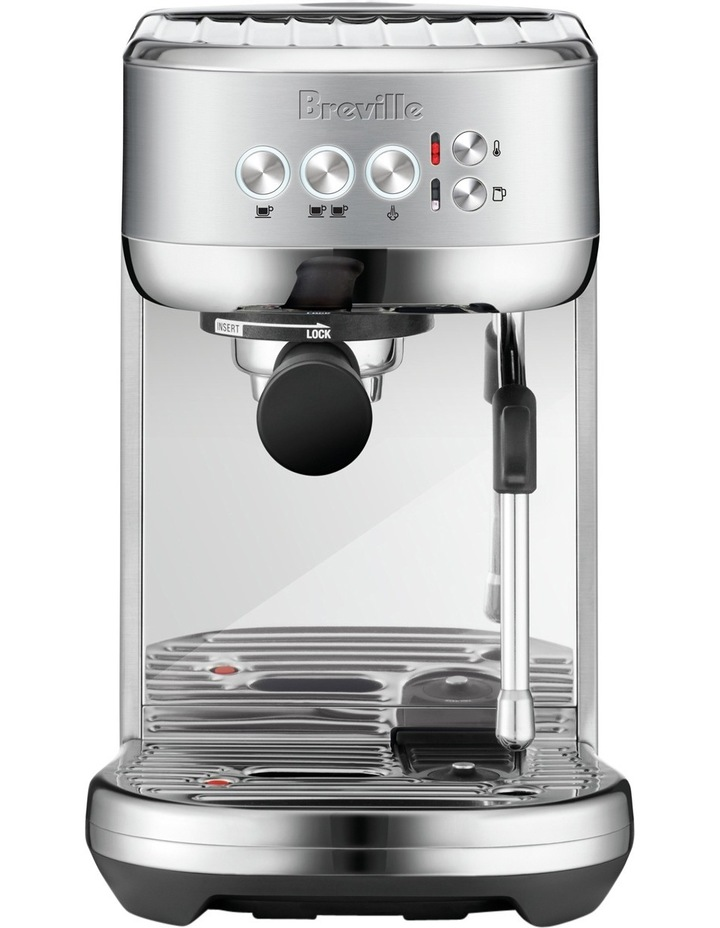 The Bambino Plus Espresso Machine: Stainless Steel BES500BSS image 1