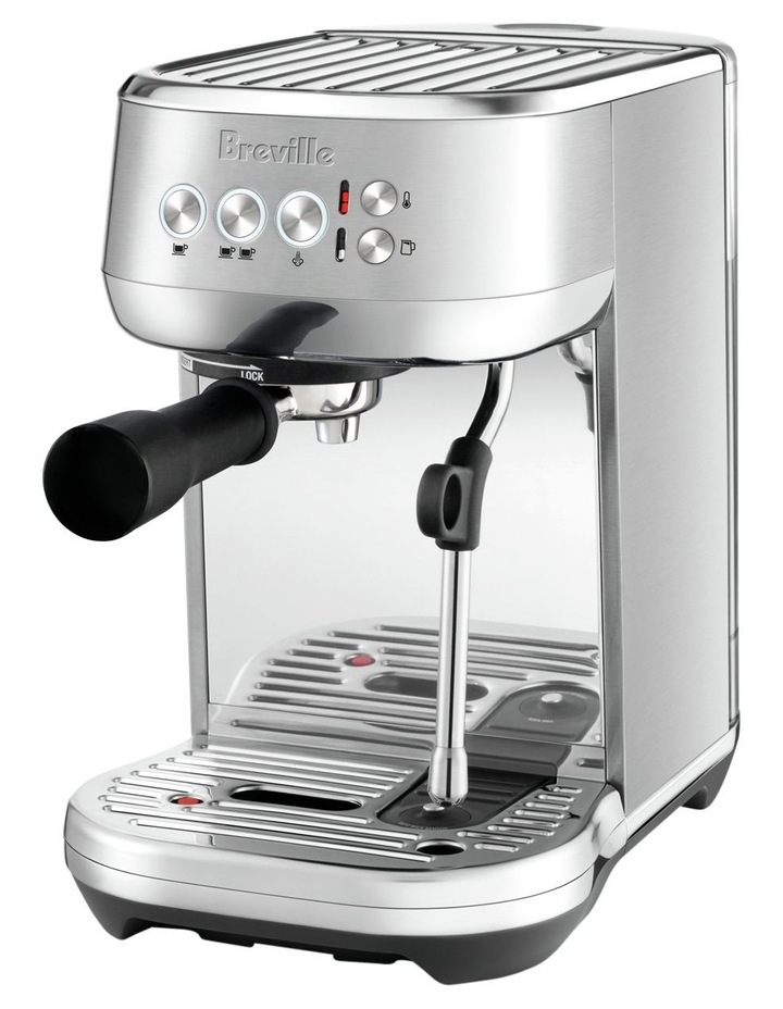 the Bambino Plus Coffee Machine Brushed Stainless Steel BES500BSS image 2
