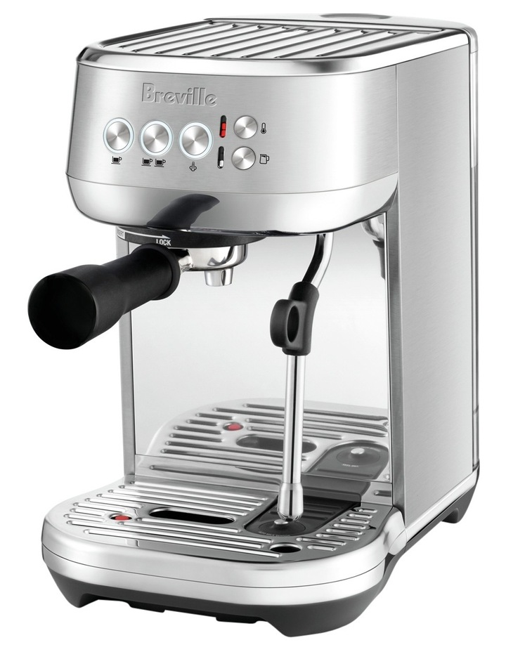 The Bambino Plus Espresso Machine: Stainless Steel BES500BSS image 2