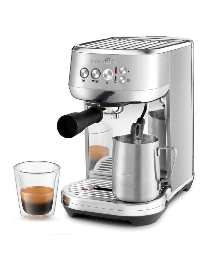 the Bambino Plus Coffee Machine Brushed Stainless Steel BES500BSS image 3