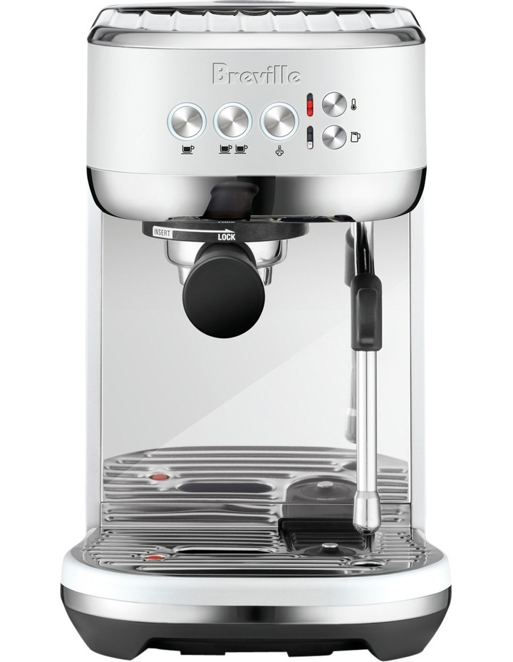the Bambino Plus Coffee Machine Sea Salt BES500SST image 1