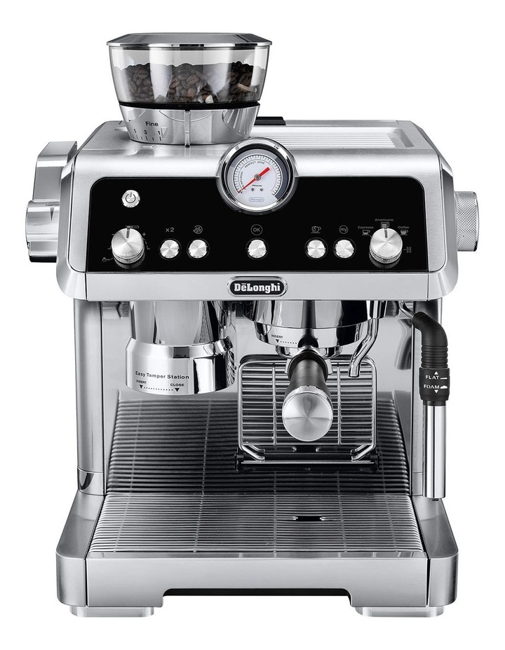 Delonghi La Specialista Manual Coffee Machine Stainless ...