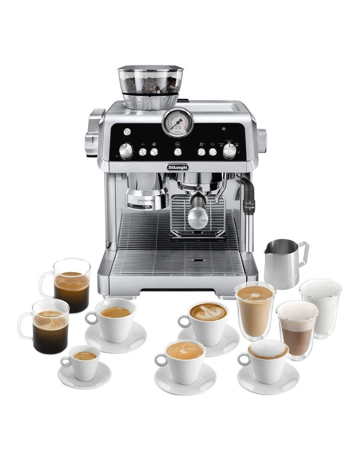 La Specialista Manual Coffee Machine Stainless Steel EC9335M image 2